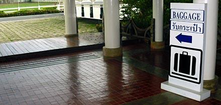 Bagage udleveringen - Sukhothai Lufthavn