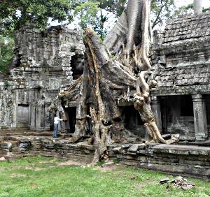 Angkor Thom i Cambodja
