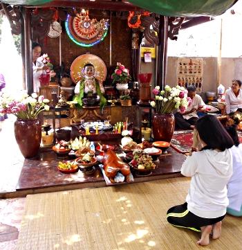 Daun Penh i Wat Phom