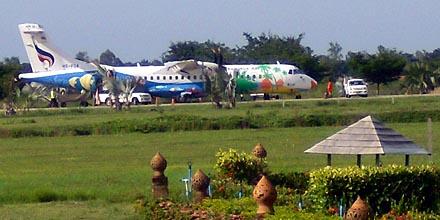 Fly fra Bangkok Airways - Sukhothai Lufthavn