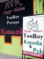 Tomboy bar i Pattya