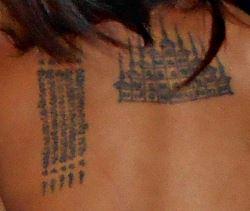 Magiske tatoveringer i Thailand